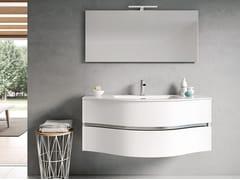 Mobile lavabo sospeso con specchioMOON 09 - BMT