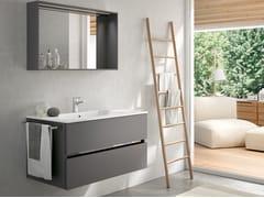 Mobile lavabo sospeso con specchioMOON 12 - BMT