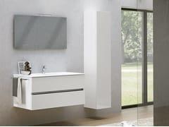 Mobile lavabo sospeso con armadioMOON 14 - BMT