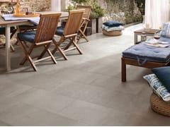 Leonardo, MOON AG Pavimento/rivestimento in gres porcellanato effetto cemento per interni ed esterni