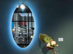ARTELINEA, MOON Specchio ovale con illuminazione integrata