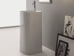 Lavabo freestanding in ceramica MOON | Lavabo freestanding - Moon
