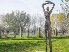 Scultura in bronzoMOON STARING - GARDECO