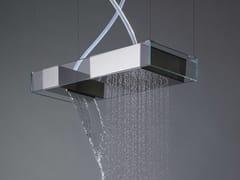 Soffione doccia a soffitto in acciaio inox MOOVE | Soffione doccia a soffitto -
