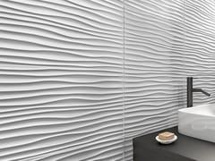 Rivestimento tridimensionale in ceramica a pasta bianca per interniMORE CHIC - RECER