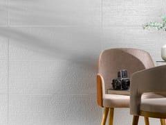 Rivestimento tridimensionale in ceramica a pasta bianca per interniMORE CODE - RECER