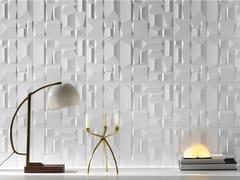 Rivestimento tridimensionale in ceramica a pasta bianca per interniMORE SHAPE - RECER
