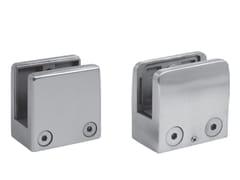 Metalglas Bonomi, Fissaggio per parapetti Fissaggio per parapetti in acciaio satinato