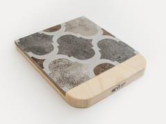 Sottopentola  in ceramica di recupero e base in legnoMOSAIC TILES TRIVET - REVÌ – UPCYCLING FURNITURE DESIGN