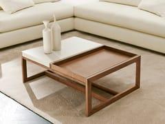 Tavolino basso con vassoio MOSAICO | Tavolino -