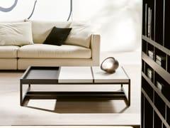 Tavolino basso con vassoio MOSAICO   Tavolino laccato -