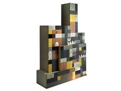 Credenza in legno con ante a battente e cassettiMOSAICO - LOLA GLAMOUR