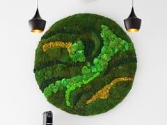 Quadro / parete vegetale in muschio e piante stabilizzateMOSS&PLANTS BASIC MOSS - GREENAREA