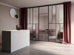 Parete mobile in alluminio e vetroCELINE | Parete mobile - ALBED