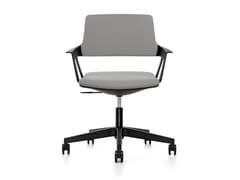 Sedia ufficio operativa ergonomica girevole in tessuto MOVY IS3 16M0 - MOVYis3