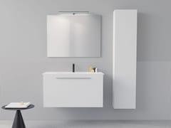 Mobile lavabo singolo sospeso con cassettiMOX | Mobile lavabo con cassetti - ALPEMADRE