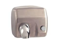 Asciugamani elettrico manuale in acciaio inoxMP403 | Asciugamani elettrico - SANILINE BY THERMOMAT