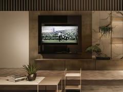 Mobile TV sospeso in vetro a specchioMR HYDE - APP DESIGN