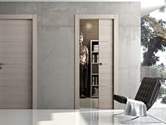 Porta scorrevole a scomparsa in legno MS | Porta in legno - MS
