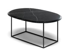 Tavolino ovale in marmoMT | Tavolino ovale - EPÒNIMO