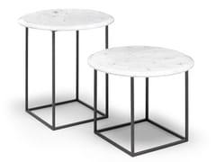 Tavolino rotondo in marmoMT | Tavolino rotondo - EPÒNIMO