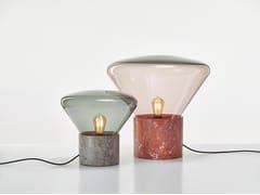 Lampada da tavolo in marmoMUFFINS 10-YEAR ANNIVERSARY   Lampada da tavolo in marmo - BROKIS