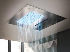 Gruppo Geromin, Soffione emozionale quadrato Soffione doccia a soffitto quadrato