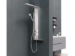 Colonna doccia a parete con doccetta MUSA PLUS - Musa