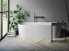 Vasca da bagno centro stanza ovale in Korakril™MY PLANET | Vasca da bagno in Korakril™ - REXA DESIGN