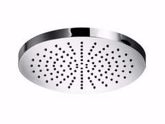 Soffione doccia a pioggia in ottone con sistema anticalcare MYRING - F1610 - MyRing