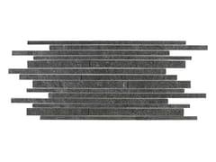Mosaico in gres porcellanatoMYSTONE QUARZITE   Mosaico Black 30 x 60 - MARAZZI GROUP