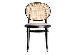 Sedia in legno con schienale in paglia di ViennaN.0 | Sedia - WIENER GTV DESIGN