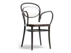 Sedia in legno N° 20 | Sedia con braccioli -