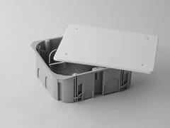 Scatola di derivazione con coperchioNAIE02 | Cassetta per impianto elettrico - AKIFIX