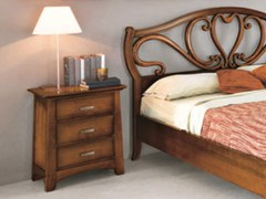 Comodino rettangolare in legno massello NAIMA | Comodino - Naima