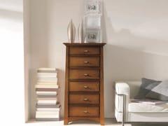 Cassettiera in legno massello NAIMA | Cassettiera - Naima