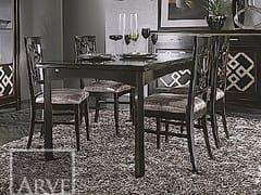 Tavolo rettangolare in legno massello NAIMA | Tavolo allungabile - Naima