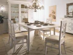 Tavolo allungabile in legno massello NAIMA | Tavolo laccato - Naima