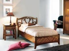Letto singolo in legno massello NAIMA | Letto singolo - Naima