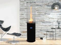 Caminetto free standing in acciaio inox e vetro a bioetanoloNANO - SPARTHERM® FEUERUNGSTECHNIK
