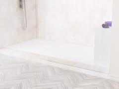 Piatto doccia angolare rettangolare in Corian®NANTES - RILUXA