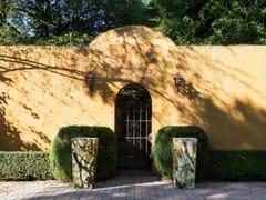 Samuele Mazza Outdoor, NAOS | Vaso da giardino in vetro temperato  Vaso da giardino in vetro temperato