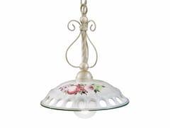 Lampada a sospensione in ceramicaNAPOLI | Lampada a sospensione a luce diretta - FERROLUCE