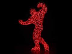 Scultura luminosa in plexiglassNARCISO 2007 - MIRABILI