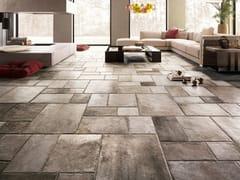 Pavimento/rivestimento in gres porcellanato effetto pietraNATIVE GREY - CERAMICA SANT'AGOSTINO