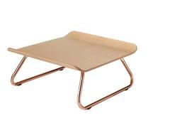Tavolino a slitta in legnoNATUS   Tavolino - ALBAPLUS BY METALMECCANICA ALBA