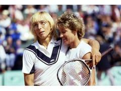 Stampa fotograficaNAVRATILOVA - EVERT LLOYD 1985 - ARTPHOTOLIMITED