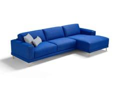 Divano letto in tessuto a 3 posti con chaise longueNAXOS | Divano letto con chaise longue - DIENNE SALOTTI