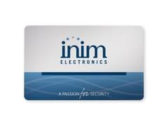 Card per lettori di prossimitànCard - INIM ELECTRONICS UNIPERSONALE