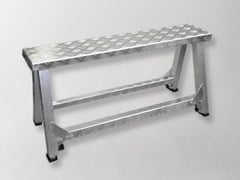 Cavalletto in alluminioNE05 | Trabattello e scala per cantiere - AKIFIX